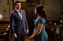 Justin Baldoni und Gina Rodriguez © Scott Everett White/The CW
