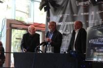 Dr. Rolf Giesen, John Landis und Dr. Michael Flintrop