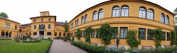 Panorama dvom Lenbachhaus