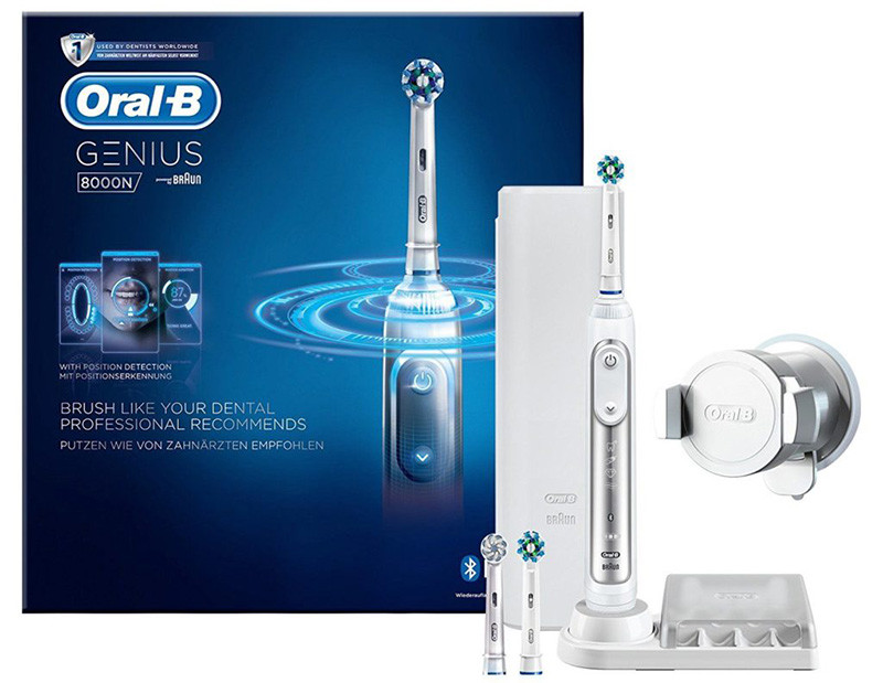Oral-B Genius 8000N CrossAction Brosse à Dents Électrique