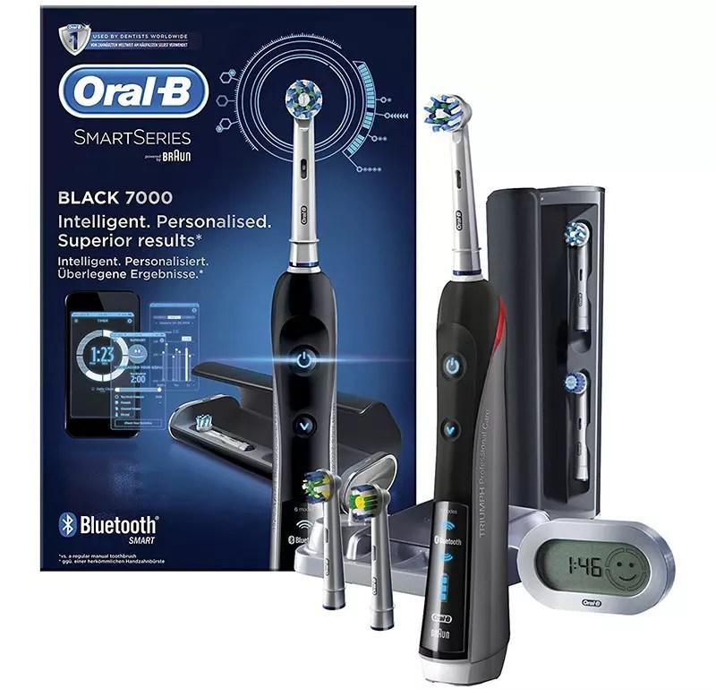 Cepillo de dientes eléctrico Oral-B Smart Series 7000 de Braun