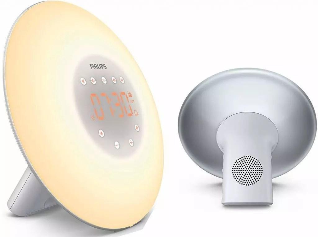 Philips Eveil Lumière HF3506 05 - Simulador de amanecer con lámpara LED