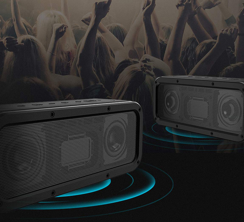 Tronsmart - Haut-Parleur Bluetooth Enceinte sans Fil 40W, Tronsmart Force Speaker Waterproof Portable