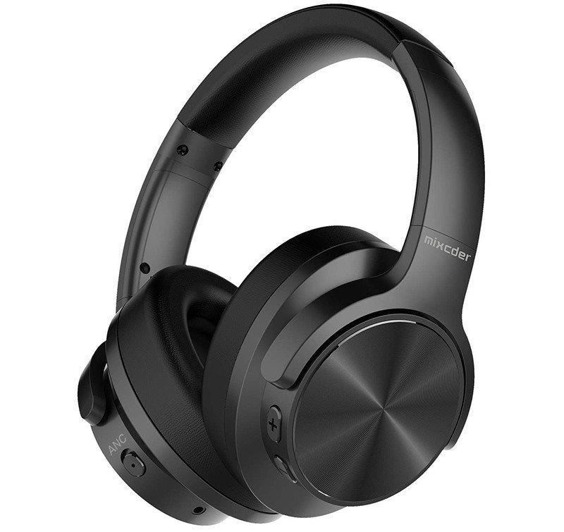 Mixcder E9 Active Circum Noise Cancelling Bluetooth Headset Auriculares estéreo inalámbricos ANC con bajos profundos