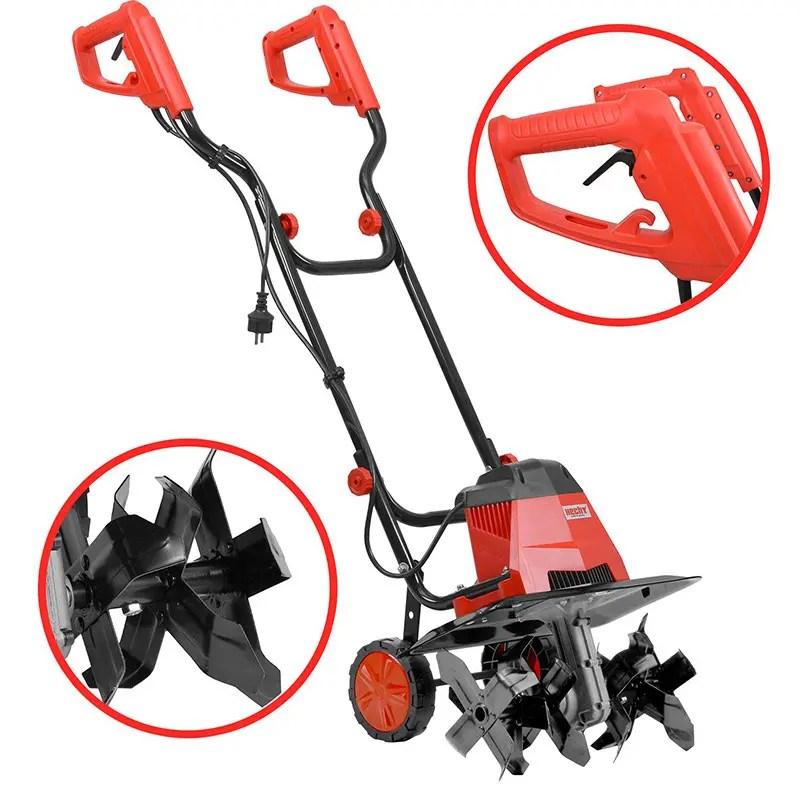 1000W Profondeur de Travail jusqu/à 23cm Largeur de Travail 30cm MANTIS Motobineuse /électrique 3450-02