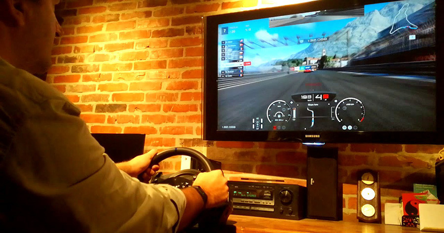 Thrustmaster - Volant T300RS GT Edition Licence Officielle Gran Turismo