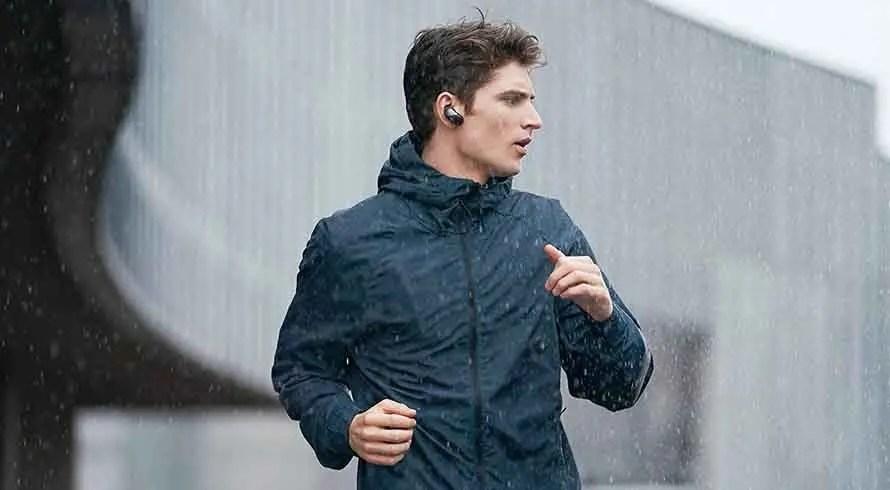 Sony WF-SP700N Auriculares deportivos inalámbricos con cancelación de ruido real