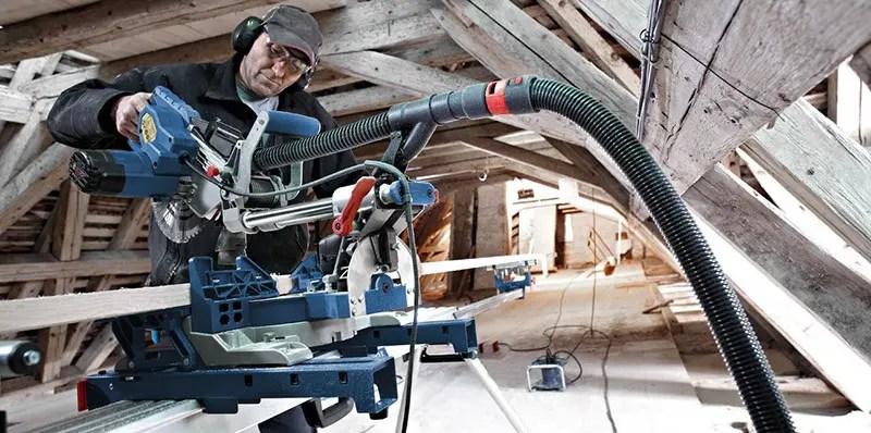Prueba Bosch Professional 0601B19100 GCM 8 SJL Sierra ingletadora radial.
