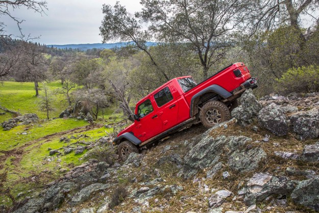 Jeep Gladiator Rubicon LSDH