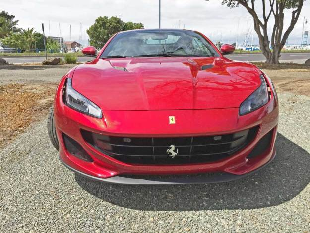 Ferrari-Portofino-Nose