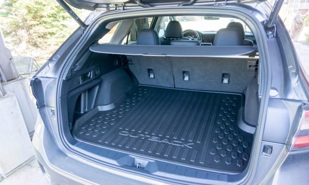 Subaru Outback trunk space