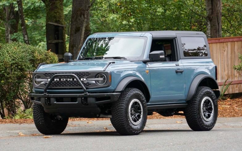 2021 Ford Bronco 2-Door Badlands: Review