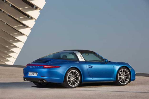 Porsche-911-Targa-Left-Side