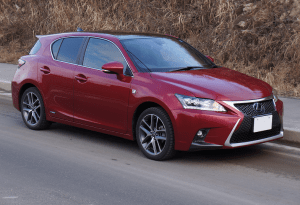 Lexus_CT200h_Fsport_2014_Front_Japan