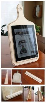 Great for displaying recipes while you cook!