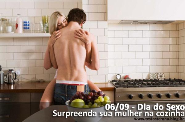 sexo na cozinha sexi