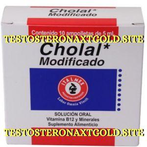 CHOLAL MODIFICADO 5 ML10 AMPOLLETAS