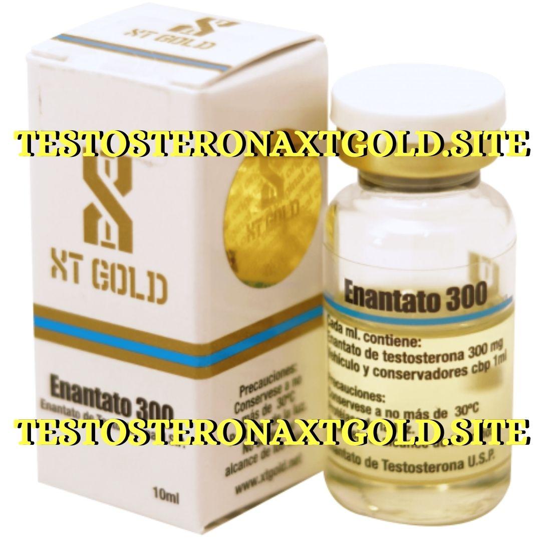 enantato de testosterona xt gold 300 mg