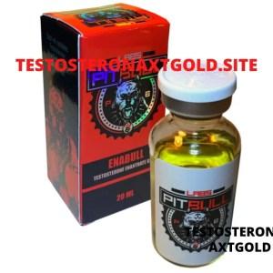 Enantato de Testosterona Pitbull Labs 20 Ml (Enabull)