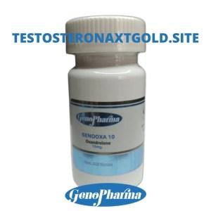 Genopharma Oxandrolona 200 Tab 10 mg Genooxa