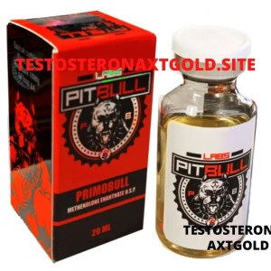 Primobolan Pitbull Labs 20ML (Primobull)