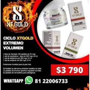 CICLO XTGOLD EXTREMO VOLUMEN 4 Esteroides