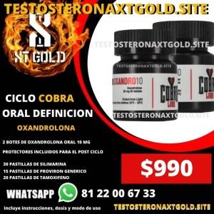 Ciclo Definición Oral Oxandrolona Cobra Labs
