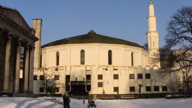 Wielki Meczet w Brukseli (zdj. Wikimedia)