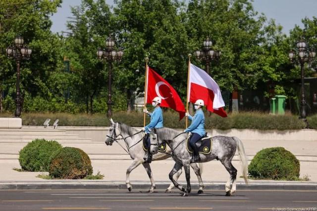 Wizyta prezydenta Andrzeja Dudy w Turcji (fot. Jakub Szymczyk/KPRP)