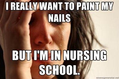nursing school memes
