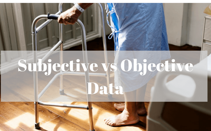 Subjective vs Objective Data