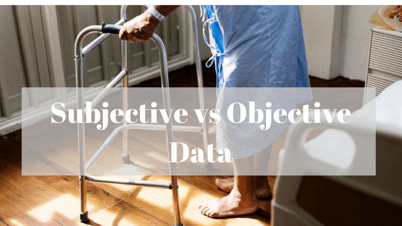 Subjective vs Objective Data