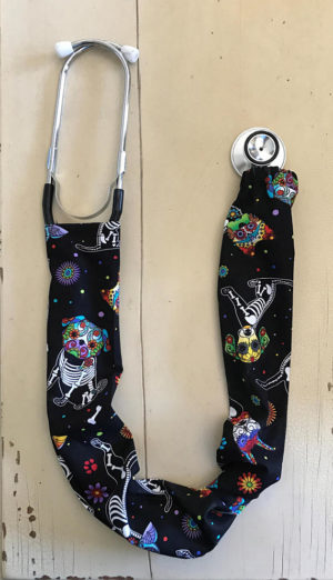 dog of the dead stethoscope covers