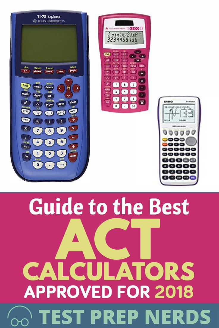 Guide to the Best ACT Calculators Approved for 2019
