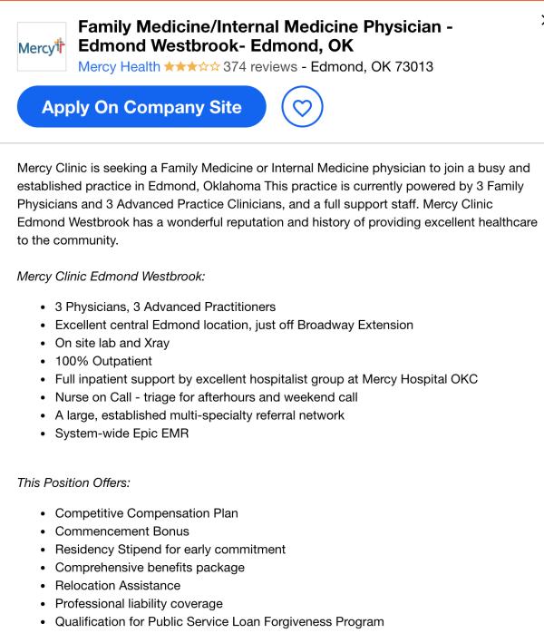 internal medicine job description