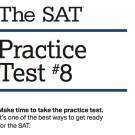 College Board  Releases SAT Practice Test 8