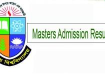 NU Masters Admission Result 2019
