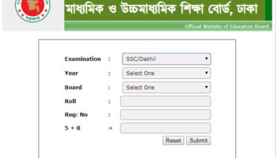 SSC Exam Result 2019 All Board Result with Marksheet