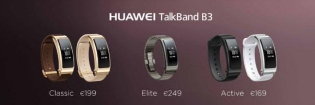 Huawei TalkBand B3 - Prix