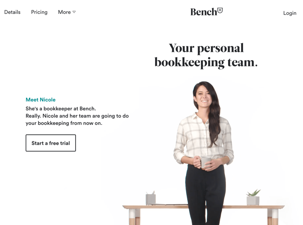 Bench-Bookkeeping