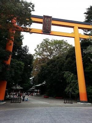 川越氷川神社鳥居 (3)