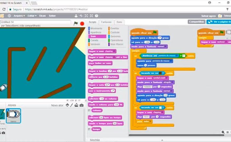 Interagindo com o Ambiente (Corrida de Barco) – Video Aula 06 – Curso de Programação de Jogos