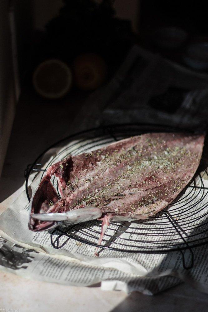 Sun dried fish (gouna)