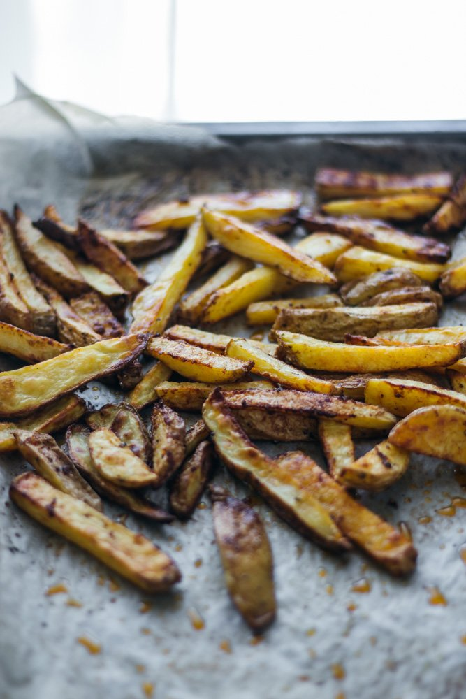 the most crispy oven fried potatoes