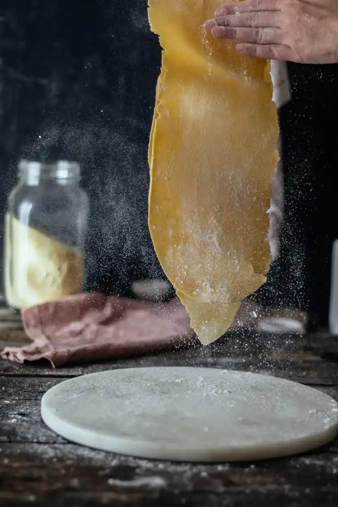 σπιτικές παπαρδέλες με κρόκους