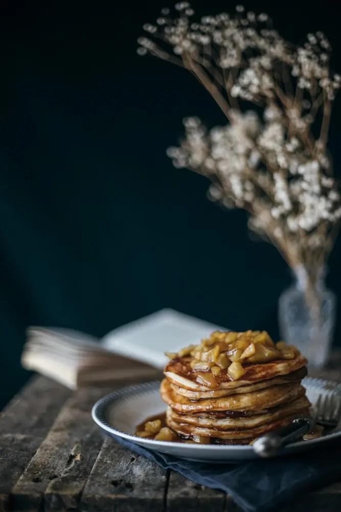 pancakes μήλου