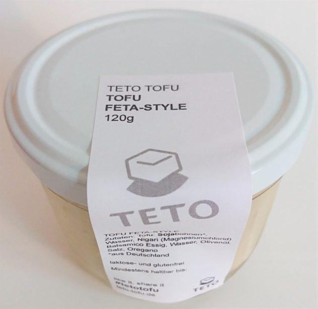 Tofu Feta Style