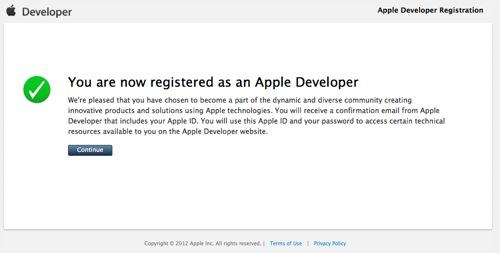 Apple Developer Registration 6