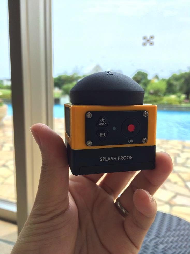 世界初!360度撮れるアクションカメラPIXPRO SP360で撮れる映像が楽しいのでスノーボードの映像を撮影してみた