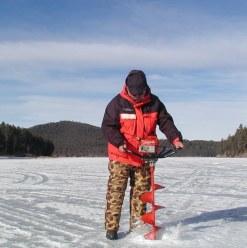 ice fishing drill
